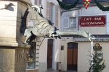 The fountain gargoyle<br /> in Saint Florentin<br /> © OTSI Saint Florentin